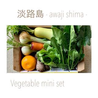 淡路島【 コンパクト 】ミニ野菜set(野菜)