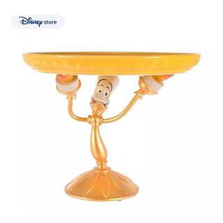 ディズニー(Disney)のディズニーストア 美女と野獣 ルミエール ケーキスタンド(彫刻/オブジェ)