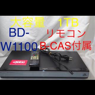 AQUOS - SHARP AQUOS ブルーレイ BD-W1100 リモコン付属 QA569