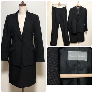 シマムラ(しまむら)のパレスガーデン  palace garden スーツ サイズ11 ブラック(スーツ)