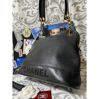 シャネル(CHANEL)の専用 正規品 CHANEL キャビアスキン チェーンバッグ 美品(ショルダーバッグ)