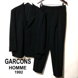 コムデギャルソンオムプリュス(COMME des GARCONS HOMME PLUS)のコムデギャルソンオム セットアップ 1992/GARONS HOMME 上L下S(セットアップ)