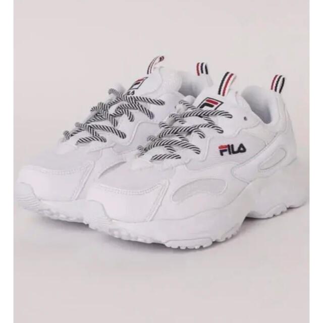 FILA(フィラ)のFILA RAY TRACER (WHITE)  23.0 スニーカー 厚底 レディースの靴/シューズ(スニーカー)の商品写真
