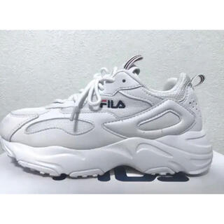 FILA - FILA RAY TRACER (WHITE)  23.0 スニーカー 厚底
