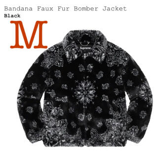 シュプリーム(Supreme)のSupreme Bandana Faux Fur Bomber Jacket M(ブルゾン)