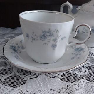 ローゼンタール(Rosenthal)のSALE❗ババリア プラチナライン カップ&ソーサー (グラス/カップ)