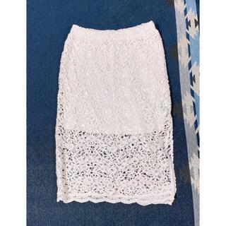 アズールバイマウジー(AZUL by moussy)のタイトスカート (ひざ丈スカート)