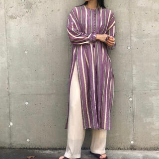 TODAYFUL - Sheer Stripe Gown シアーストライプガウン