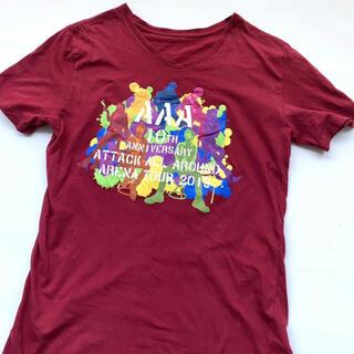 トリプルエー(AAA)のAAAのTシャツL used(Tシャツ(半袖/袖なし))