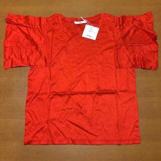 グラスライン(Glass Line)の新品未使用 レディース トップス スライ(Tシャツ(半袖/袖なし))