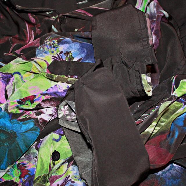 LAD MUSICIAN(ラッドミュージシャン)のLAD MUSICIAN/DECHINE BIG SHIRT INKJET メンズのトップス(シャツ)の商品写真