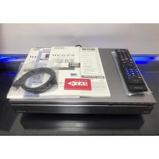トウシバ(東芝)の東芝HDD&BDレコーダー REGZA DBR-M190タイムシフト美品(ブルーレイレコーダー)