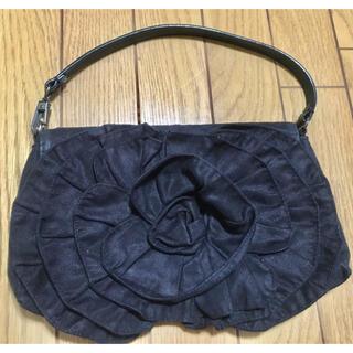 クリスチャンオジャール(CHRISTIAN AUJARD)の美品 クリスチャンオジャール クラッチバッグ ブラック(ショルダーバッグ)