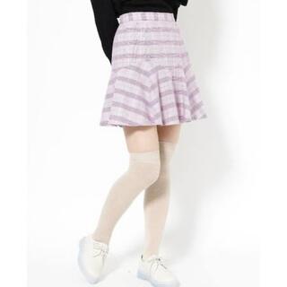 メリージェニー(merry jenny)のメリージェニー 新品タグ付きスカート(ミニスカート)