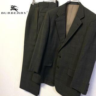 BURBERRY - 美品 オールド Burberry メンズ スーツ セットアップ メンズL