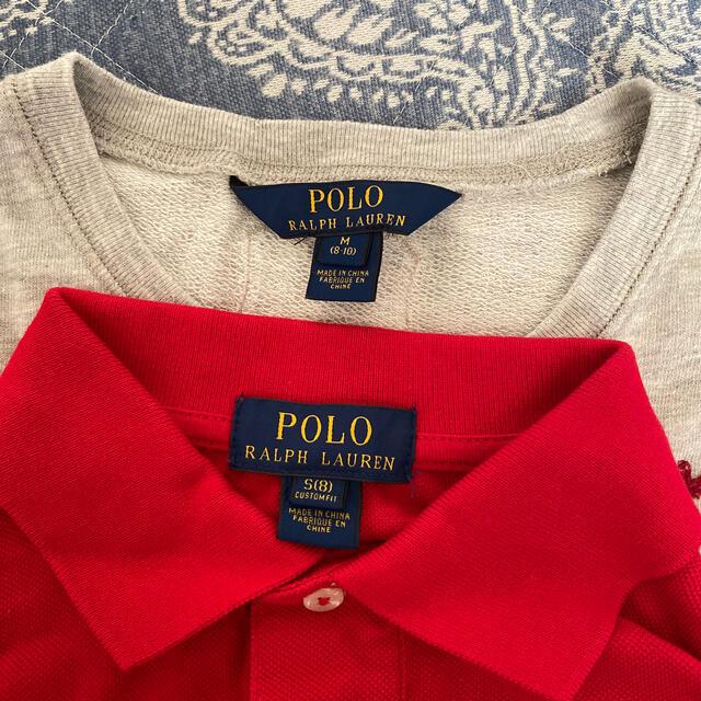 POLO RALPH LAUREN(ポロラルフローレン)の週末限定値下げ!POLO RALPH LAUREN サイズ8 キッズ/ベビー/マタニティのキッズ服男の子用(90cm~)(ジャケット/上着)の商品写真