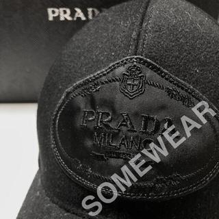 PRADA - PRADA Baseball Cap Black / L