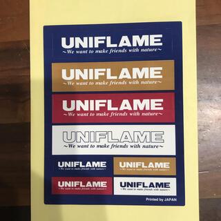 ユニフレーム(UNIFLAME)のUNIFLAME ステッカー(その他)