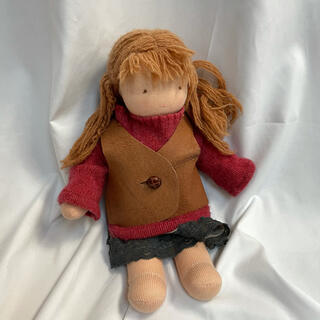 ボンポワン(Bonpoint)のウォルドルフ人形 B体 全長 33㎝くらい(人形)