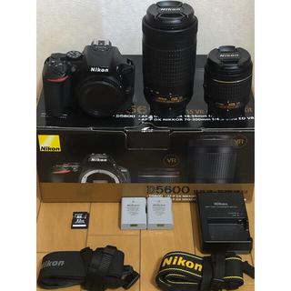 Nikon - Nikon D5600ダブルズームキット+おまけ
