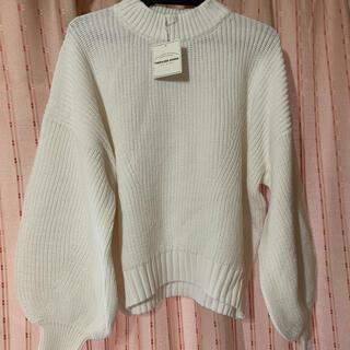 トラッゾドンナ(TORRAZZO DONNA)のtorrazzo donna ホワイト セーター(ニット/セーター)