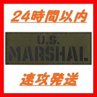 IR US marshal レンジャーグリーン レーザーカットパッチ(その他)