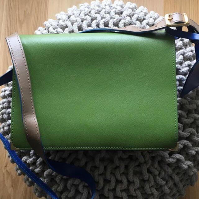 DEUXIEME CLASSE(ドゥーズィエムクラス)のErika Cavallini レザー ショルダーバッグ レディースのバッグ(ショルダーバッグ)の商品写真