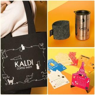 カルディ(KALDI)のカルディ KALDI ネコの日 猫の日 バッグ タンブラー のみ(トートバッグ)