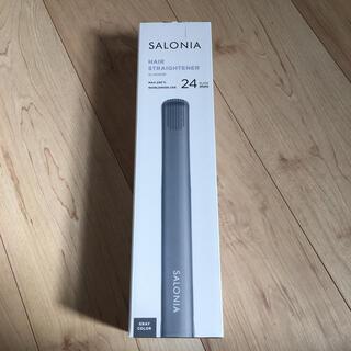 SALONIA 24mm ストレートアイロン(ヘアアイロン)