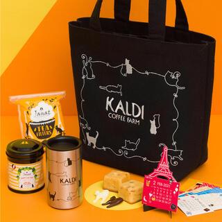 カルディ(KALDI)のカルディ 猫の日バッグ プレミアム (菓子/デザート)