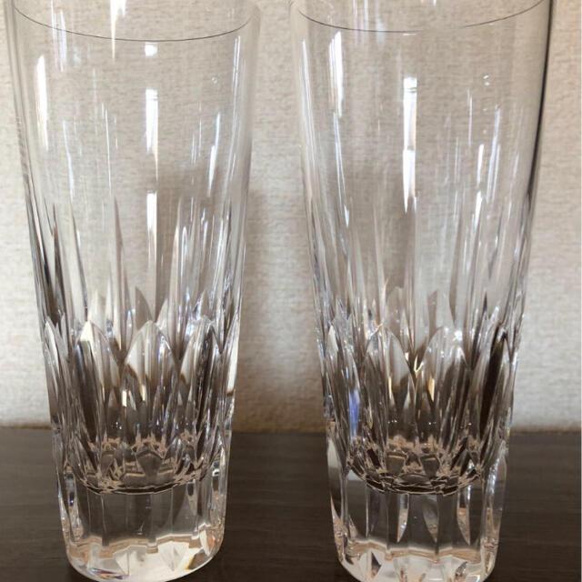 Baccarat(バカラ)の最上級 クリスタルグラス 2脚 インテリア/住まい/日用品のキッチン/食器(食器)の商品写真