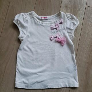 メゾピアノ(mezzo piano)のmezzo pianoTシャツ120(Tシャツ/カットソー)