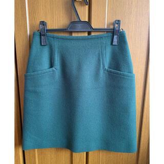 ボルニー(BORNY)のBORNY  ボルニー 台形スカート Mサイズ(ひざ丈スカート)