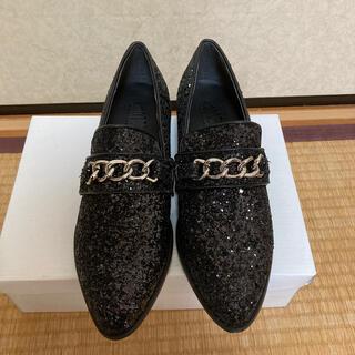 ギャルスター(GALSTAR)のグリッターローファー ラメ(ローファー/革靴)