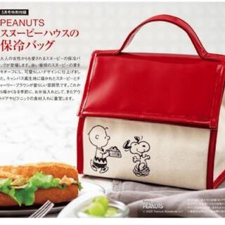 ピーナッツ(PEANUTS)のスヌーピーハウスの保冷バッグ(弁当用品)