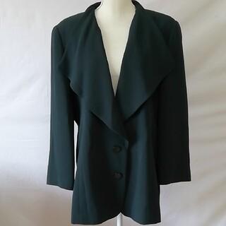 クリスチャンオジャール(CHRISTIAN AUJARD)の美品クリスチャンオジャール、リベルテ大きいサイズお洒落な襟デザインジャケット(テーラードジャケット)