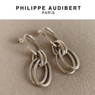 フィリップオーディベール(Philippe Audibert)のPHILIPPE AUDIBERT ピアス シルバー(ピアス)