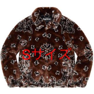 Supreme - Supreme Bandana Faux Fur Jacket  Sサイズ