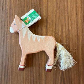 ボンポワン(Bonpoint)のホルツティガー 馬(知育玩具)