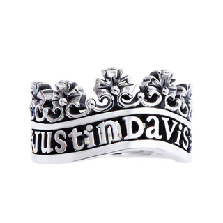 Justin Davis - ジャスティンディビス ヴィクトリア リング 指輪 ロゴ