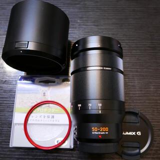 パナソニック(Panasonic)のルミックス 50-200 H-ES50200 f2.8-f4.0 ライカレンズ(レンズ(ズーム))
