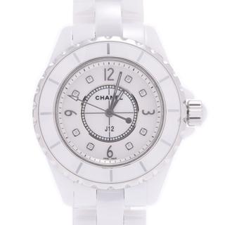 CHANEL - シャネル  J12 33mm 8Pダイヤ 腕時計