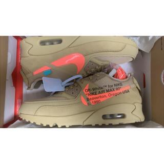 OFF-WHITE - offwhite air max 90 デザートオレ 28cm