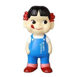 【新品】不二家 ソフビコレクション ペコちゃん overall girl(その他)