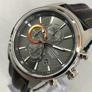 セイコー(SEIKO)のSEIKO セイコー ALBA アルバ クロノグラフメンズクォーツ 3針 レザー(腕時計(アナログ))