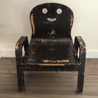 アクタス(ACTUS)のアンティーク調 キッズ用チェアー 椅子 イス(スツール)