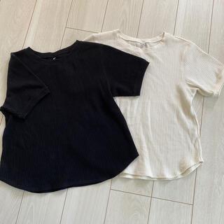 UNIQLO - 【UNIQLO】ワッフル 半袖Tシャツ セット!