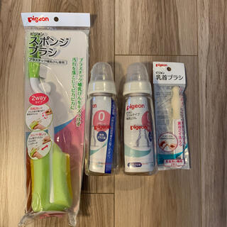 Pigeon - 哺乳瓶 スポンジブラシ 乳首ブラシ まとめ売り