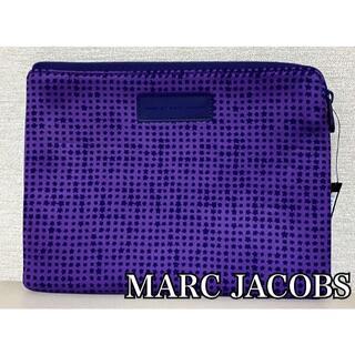 マークバイマークジェイコブス(MARC BY MARC JACOBS)のMARC BY MARC JACOBS ☆ 新品未使用 PC ケース 紫(クラッチバッグ)