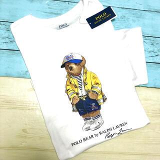 POLO RALPH LAUREN - ポロ ラルフローレン ポロベアー 半袖 Tシャツ 白 キャップ 新品 ブランド